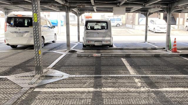 こちらに1台駐車できます